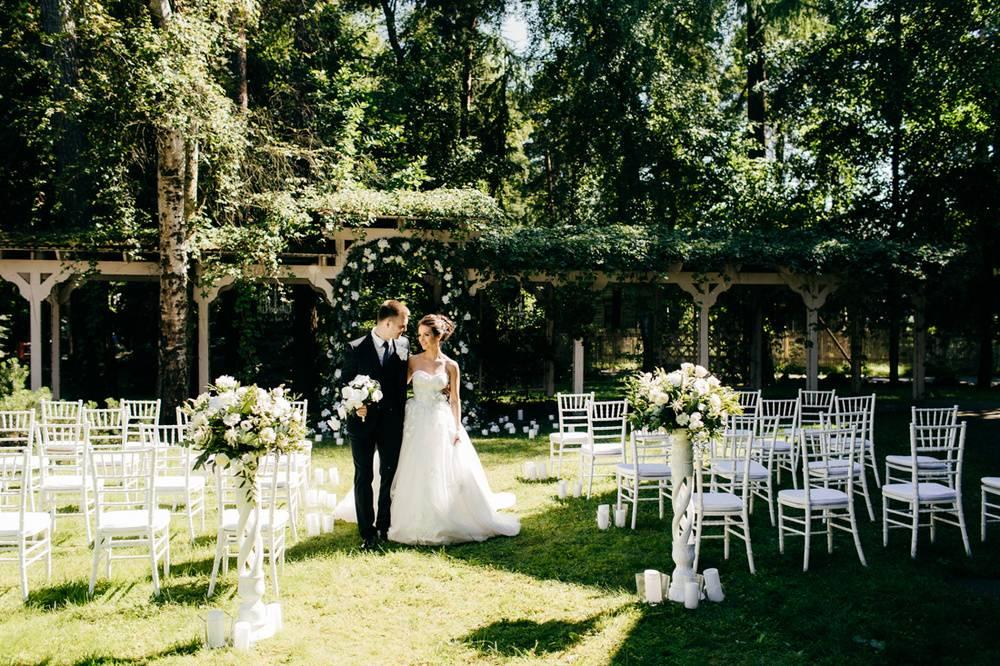 Свадьба в заогродном клубе отеле Киев