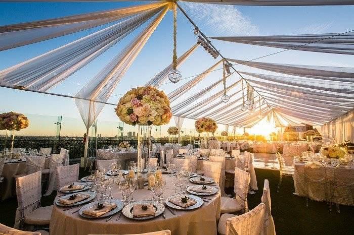 Проведение свадьбы на крыше киева