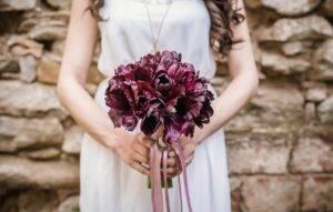 свадебный букет невесты киев