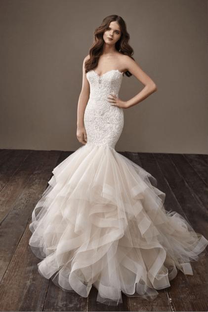 Свадебное платье киев русалка