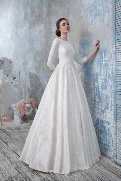 голубое свадебное платье киев украина