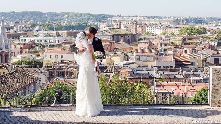 Ведущий на свадьбу в Италии