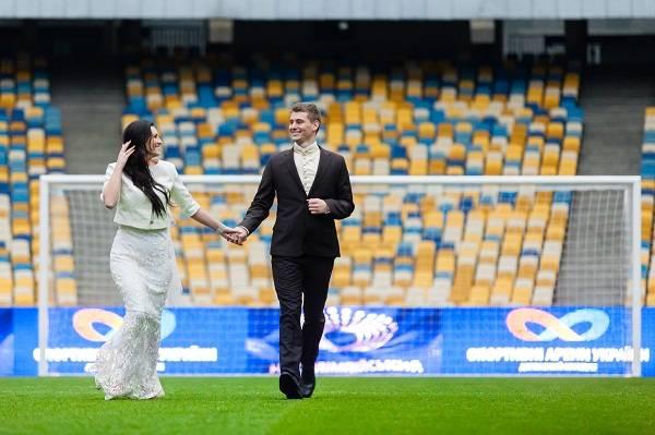 Свадьба на стадионе олимпийский