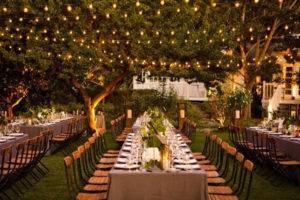 Лампочки на свадьбу свадьба на природе