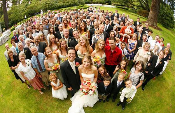 Семейное фото на свадьбу киев